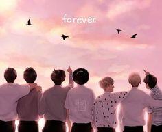 BTS Young Forever theme Chrome Theme - ThemeBeta