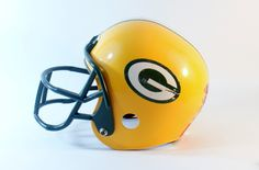 Franklin Helmet Green Bay Packers Uniform Nfl Sports Football Youth Jersey Kids Outfit Costume Plastic Decorative Childs by DoorCountyVintage on Etsy