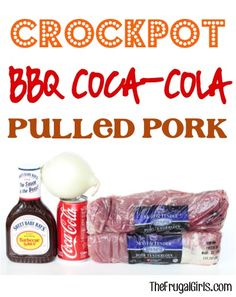 Crockpot BBQ Coca-Cola Pulled Pork Recipe! ~ from TheFrugalGirls.com ~ this easy barbecue Slow Cooker dinner will hit the spot! #slowcooker #recipes #thefrugalgirls