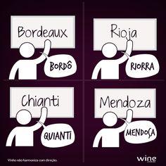Nada de passar vergonha na hora de falar os nomes das regiões vinícolas! #wine #vinho #mundovinho