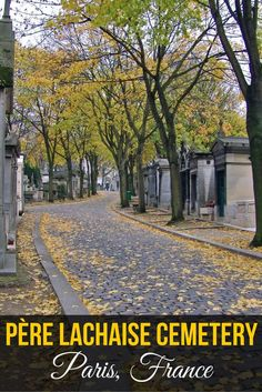 Lessons from Père Lachaise Cemetery in Paris, France (sponsored)
