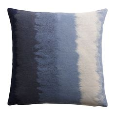 Ombre Blue Pillow