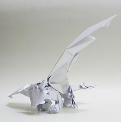 Origami Toothless by ~twistedndistorted on deviantART Epicness!!!!