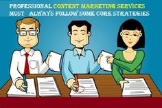 The professional #contentMarketing Services must always follow some core strategies  #ContentMarketingServices #ContentMarketingTips #ContentMarketingStrategies