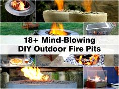 18+ Mind-Blowing DIY Outdoor Fire Pits