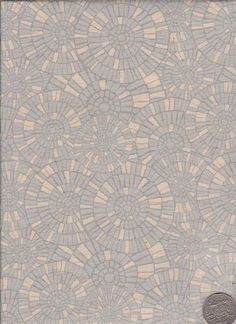 "Mosaic Grey  ""Mosaic Bloom"" designed by Rosalie Dekker."