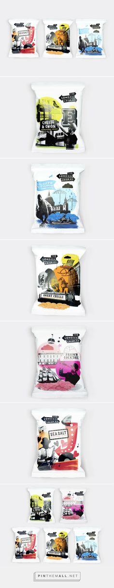 Packaging for The London Crisp Co. by B&B Studio