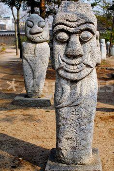 Korean Totem Statues in Gyeongbuk Palace -- Seoul Taoism, Buddhism, Chuang Tzu, Korean Art, Korean Style, Fox Spirit, Korean Peninsula, I Ching, Sell Your Art