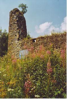 Ruins of Lochwood Castle, orignal residence of Johnstones of Annandale