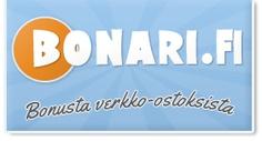 Bonari - Kilpailija Ostohyvitykselle - Rahaa takaisin ostoksista Arvostelu ja kokemuksia: Bonari - Rahaa takaisin nettiostoksista (Cashback) - Parempi kuin Ostohyvitys?