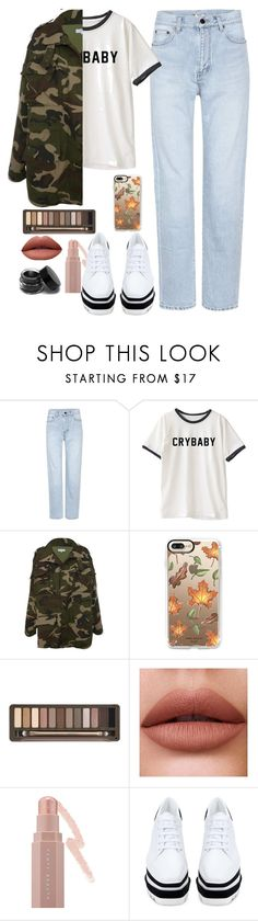 """Baby love"" by arianabut1993 on Polyvore featuring moda, Yves Saint Laurent, Casetify, Urban Decay, Puma y STELLA McCARTNEY"