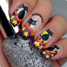 halloween by tymaria78  #nail #nails #nailart
