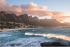 """""""The sunset is everyone's favorite thing to photograph, so it can be a challenge to make your shots stand out,"""" says Eric Rubens. """"When shooting at the beach, the key is to check the tides and check … Cape Town Photography, Beach Photography, V&a Waterfront, Boulder Beach, Exotic Places, Travel Photographer, Marine Life, City, Landscapes"""