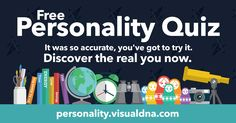 Free Insightful Personality Test - VisualDNA I'm a Seeker, what about you? Personality Profile, Personality Types, Enneagram 4, Verona, Free Fun, Health Facts, Get The Job, Things To Know, Self Development