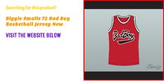 Are you looking for Biggie Smalls 72 Bad Boy Basketball Jersey New? Visit http://www.borizcustomsportsjerseys.com/Biggie-Smalls-72-Bad-Boy-Basketball-Jersey-New-p/biggie-smalls-72-red.htm