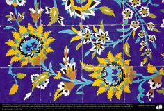 Arte islámico – Azulejos y mosaicos islámicos (Kashi Kari) realizados en paredes, techos, cúpulas, minaretes de las mezquitas - 16 | Galería de Arte Islámico y Fotografía