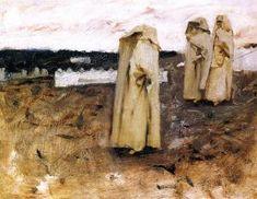 John Singer Sargent - Bedouin Women 1880  - The Athenaeum