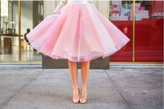 Purple Tulle Skirt , Pink Tulle Skirt by CataleyaByMiryana on Etsy