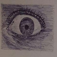 Shocked eye