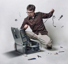 Como reparar o computador
