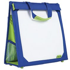 Kids Portable Lap Desk with Storage, Kids Car Organizer Could be made using a binder and making a cloth cover for it with pockets and cork tow yo keep it up out of the way when not in use