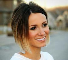 Einen natürlichen Look? Was hältst Du von diesen traumhaften Frisuren für mittellange und kurze Haare in Ombré Hair? - Seite 3 von 12 - Neue Frisur