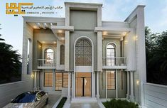 Le Riad, House Elevation, Building Design, House Design, Construction, 3d, Mansions, Architecture, House Styles