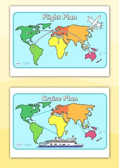 Twinkl Resources >> World Map Posters >> Classroom printables for Pre-School Kindergarten Elementary School and beyond! Topics Travel Vacations World Maps Class Displays, Classroom Displays, Classroom Themes, World Map Poster, Map Posters, Airport Theme, Role Play Areas, Dramatic Play Area, Going On Holiday