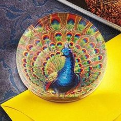 Smithsonian Peacock Paperweight  $30.00 www.AllThingsPeacock.com