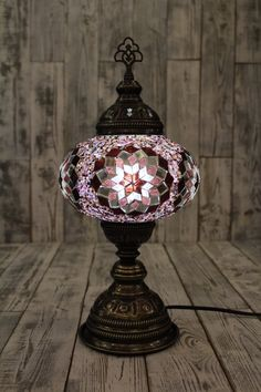 Decor, Lamp, Lighting, Feng Shui, Mosaic, Mosaic Lamp, Cool Stuff, Apartment Decor