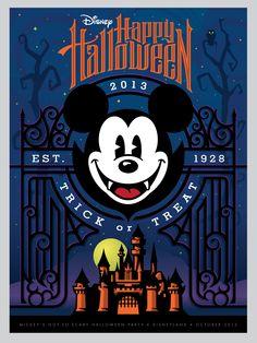 Happy Halloween - Disneyland 2013
