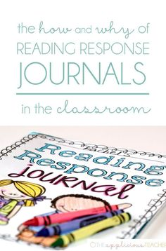 Reading Response journals in the classroom- the most powerful and easiest strategy I've ever implemented. FREE download included! TheAppliciousTeacher.com  #reading #readingresponsejournals #readingjournal