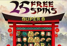 25 Free Spins SUPER6 729 All ways Pay   CLUB PLAYER Casino