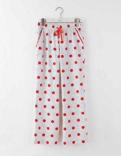 Woven Pull-On Pyjamas at Boden Wrapping Presents, Christmas 2016, Pyjamas, Nightwear, Mornings, Cocoa, Festive, Pajama Pants, My Style