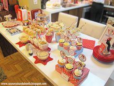 festa retro comidas - Pesquisa Google
