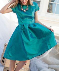 Green Nutcracker Dress - Women #zulily #zulilyfinds