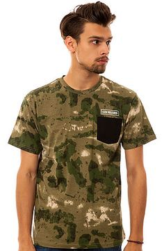 The Thieves Pocket Tee in French Camo by Crooks and Castles