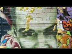 Graffeurs en Région parisienne avec la musique électronique de DAROC