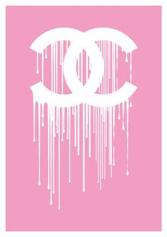 Chanel liquidate dripping logo