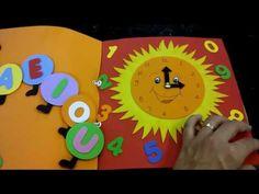 Livro sensorial - YouTube Books For Boys, Busy Book, Sensory Play, Sewing, Youtube, Fabric Books, Felt Books, Quiet Books, Sensory Stimulation