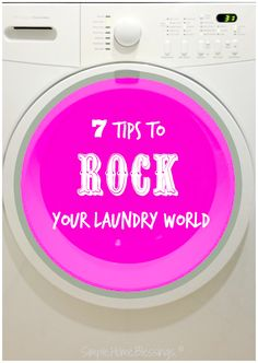 Simple laundry tips that will save you time AND money
