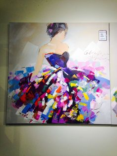 Diy abstract heart painting and a fun paint party – Artofit Heart Painting, Dress Painting, Knife Painting, Painting People, Arte Pop, People Art, Acrylic Art, Beautiful Paintings, Art Pictures