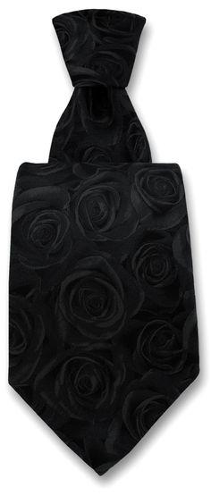 Robert Charles New Zealand Rose Print Tie Black All Black Tuxedo, Tie, Accessories, Fashion, All Black Tux, Moda, Fashion Styles, Cravat Tie, Ties