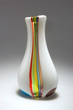 Anzolo Fuga ~ Art-Glass Vessel ♥•♥•♥