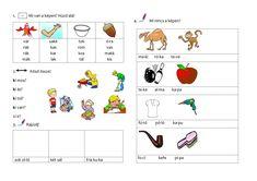 Meixner gyakorló f-ig Kids And Parenting, Textile Art, Language, Teacher, Education, Learning, School, Handmade, Professor