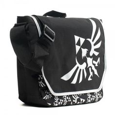 52b417845e47 Nintendo The Legend of Zelda Full Size Velcro Close Flap Messenger Laptop  Bag  Nintendo