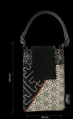 Traditional Edo Sashiko (Tokyo) pattern for your mobile phone