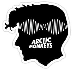 """""""Alex Turner - AM"""" Sticker   clothes in 2019   Adesivos ..."""