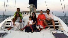 Family cruise for Abhishek Bachchan's 40th birthday - http://thehawkindia.com/news/family-cruise-for-abhishek-bachchans-40th-birthday/