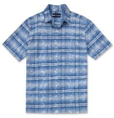 Como - Fabric spun, woven & printed in Como, Italy. Handcrafted in Hawaii, USA. $175